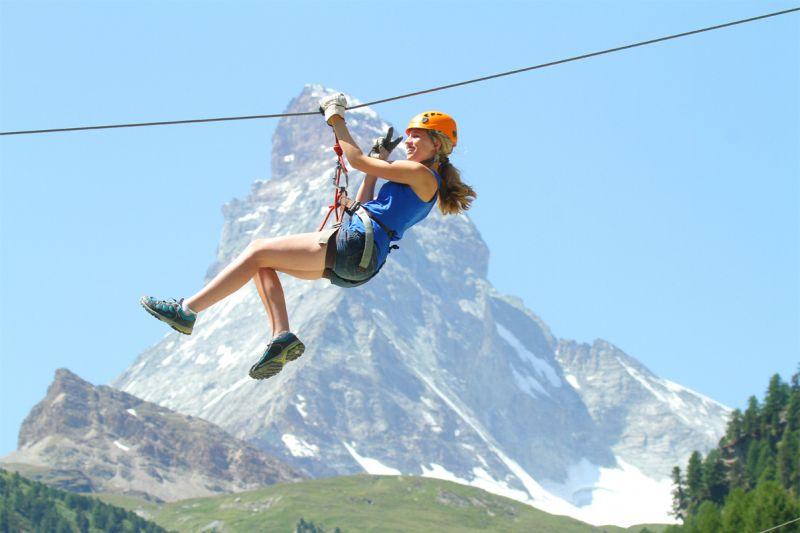 Kletterausrüstung Zermatt : Seilparks in der schweiz consumo.ch: konsum themen nützliche