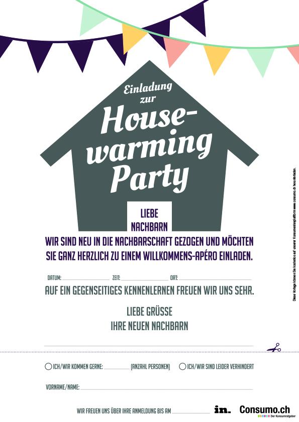 Nachbarn kennenlernen einladung