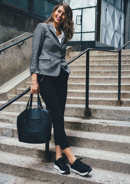 Frau in Businessoutfit